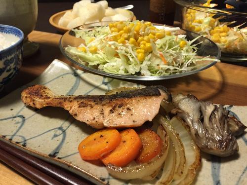 Sep02_鮭と野菜のソテー