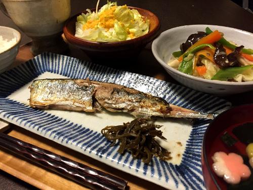 Sep10_焼き秋刀魚