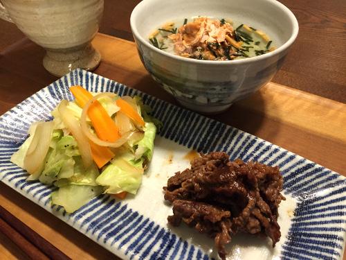 Sep15_お肉と野菜炒め