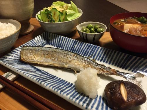 Oct01_焼き秋刀魚