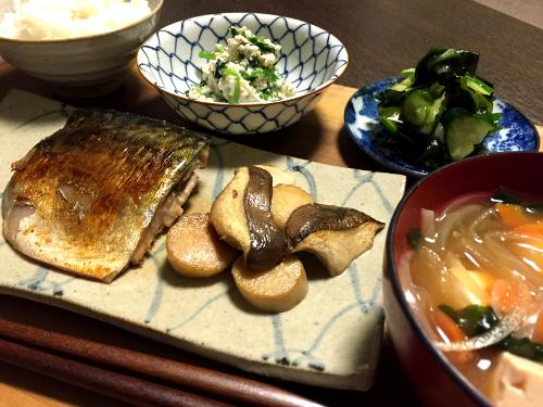 Oct22_鯖の味噌漬け