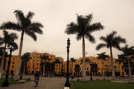 リマのマヨール広場