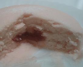 いちごの蒸しケーキ04