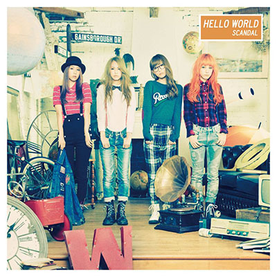 SCANDAL「HELLO WORLD」【アナログ(12inch)】