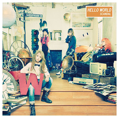 SCANDAL「HELLO WORLD」