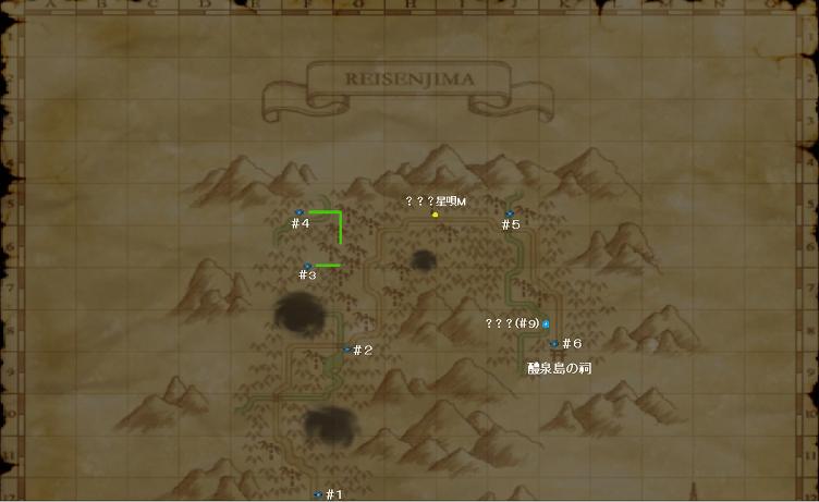 醴泉島MAP60(白字マーキング付き)