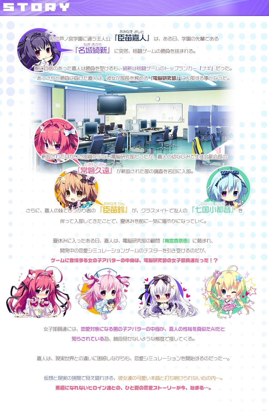 ナツイロココロログ Hearts 3rd Project