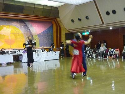 (飯田さん)社交ダンスメダルテスト