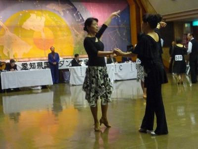 P1050393 11,1、(浅野さん)社交ダンスメダルテスト
