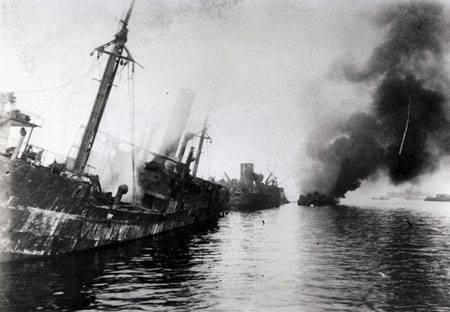 横浜港ドイツ軍艦爆発事件