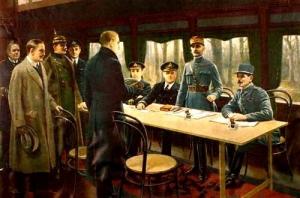 第一次世界大戦、ドイツ降伏