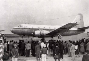 日本航空1番機木星号