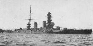 戦艦「長門」竣工時