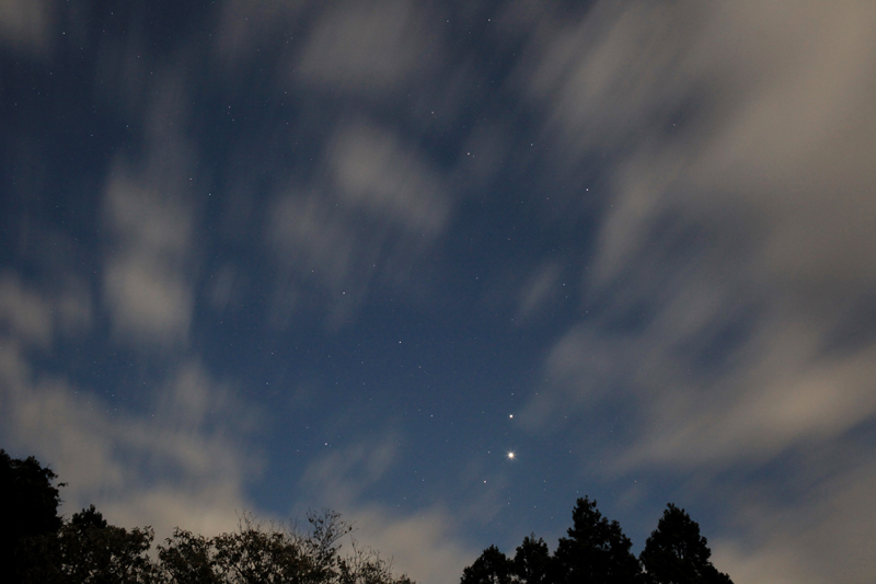 20151029明け方前の3惑星集合