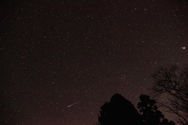20151118しし座流星群(散在か?)