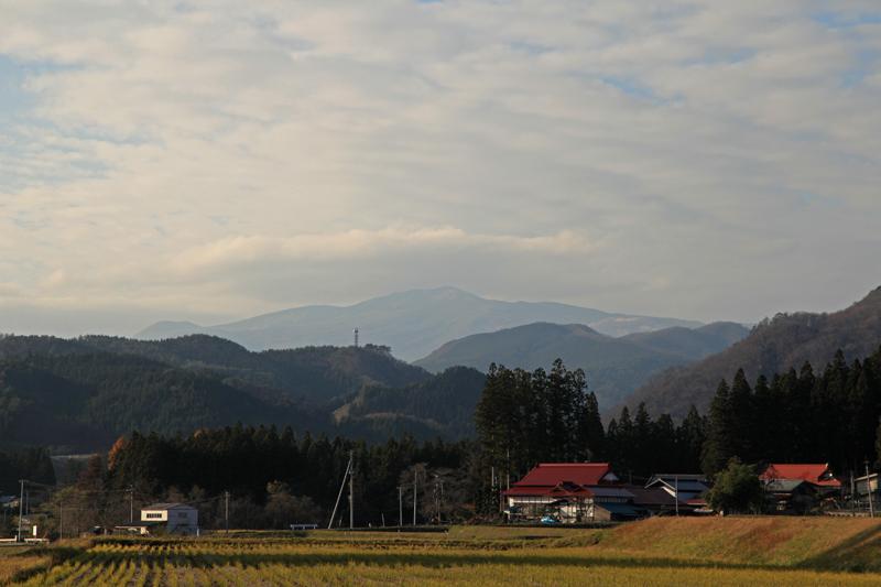 20151122栗駒山の笠雲