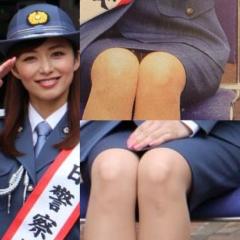 伊藤綾子アナ婦人警官パンチラ画像2