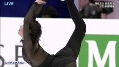 村上佳菜子スケスケ衣装四大陸選手権画像4
