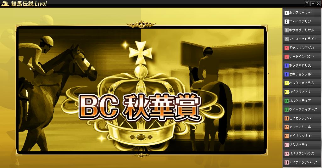 BC秋華賞
