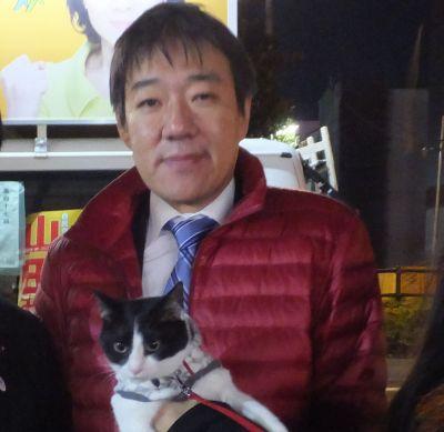 400東京都議会議員 秋田一郎先生