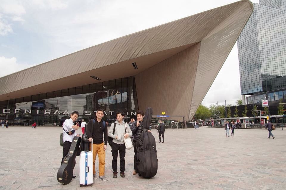 ロッテルダム到着!
