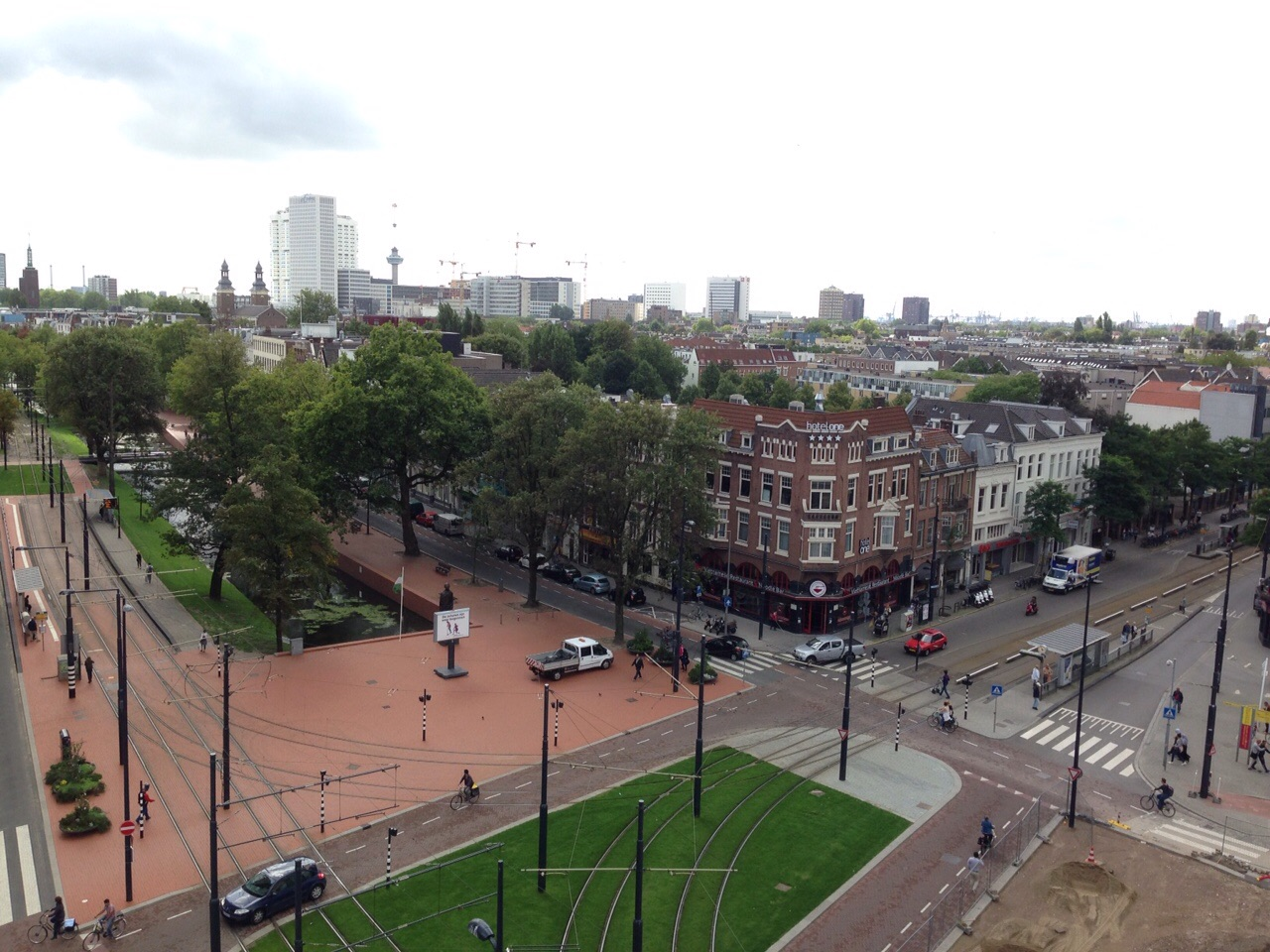 ロッテルダムの街並