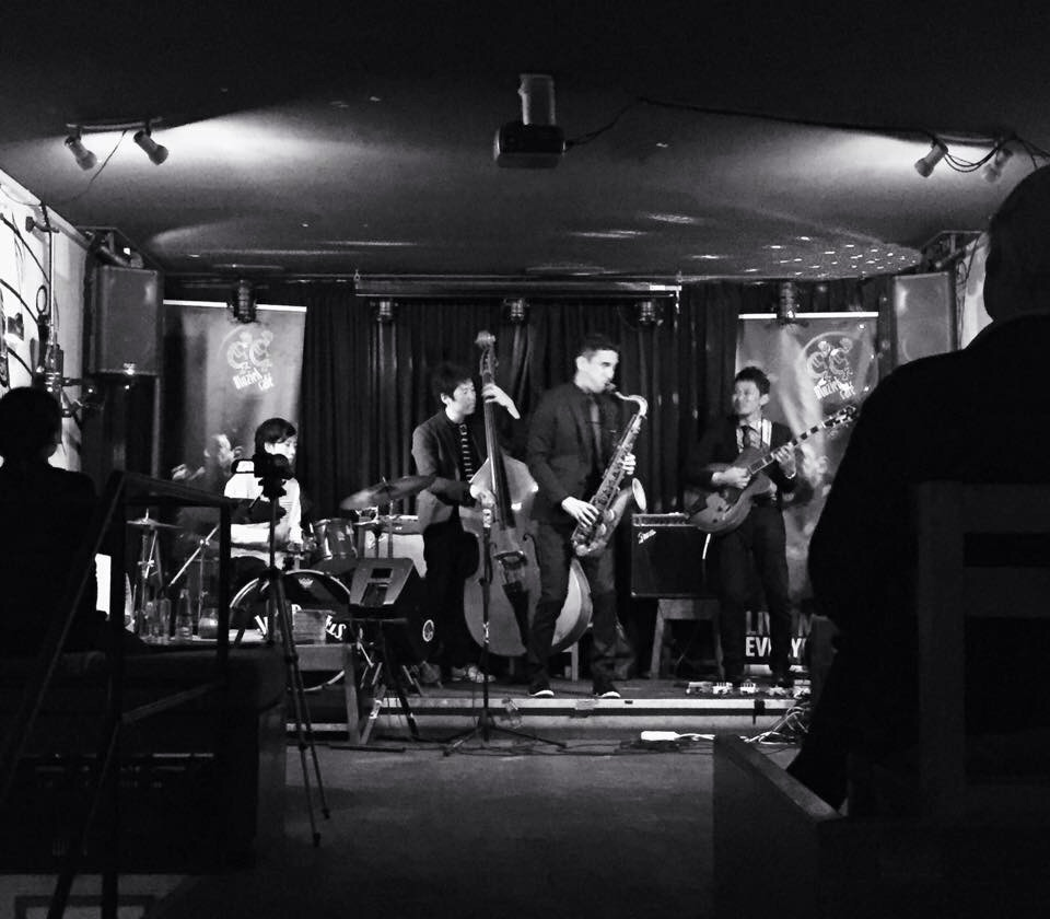 Shu Ishikawa Quartet@CC Cafe