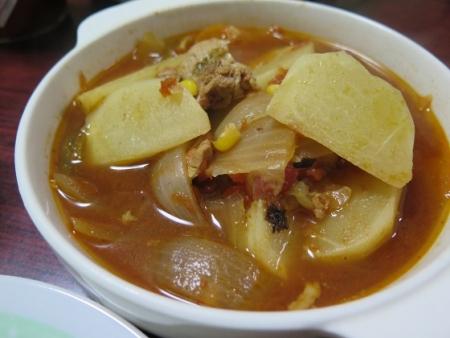 カブのトマトスープ