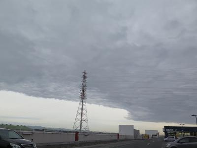 雨雲の端っこ