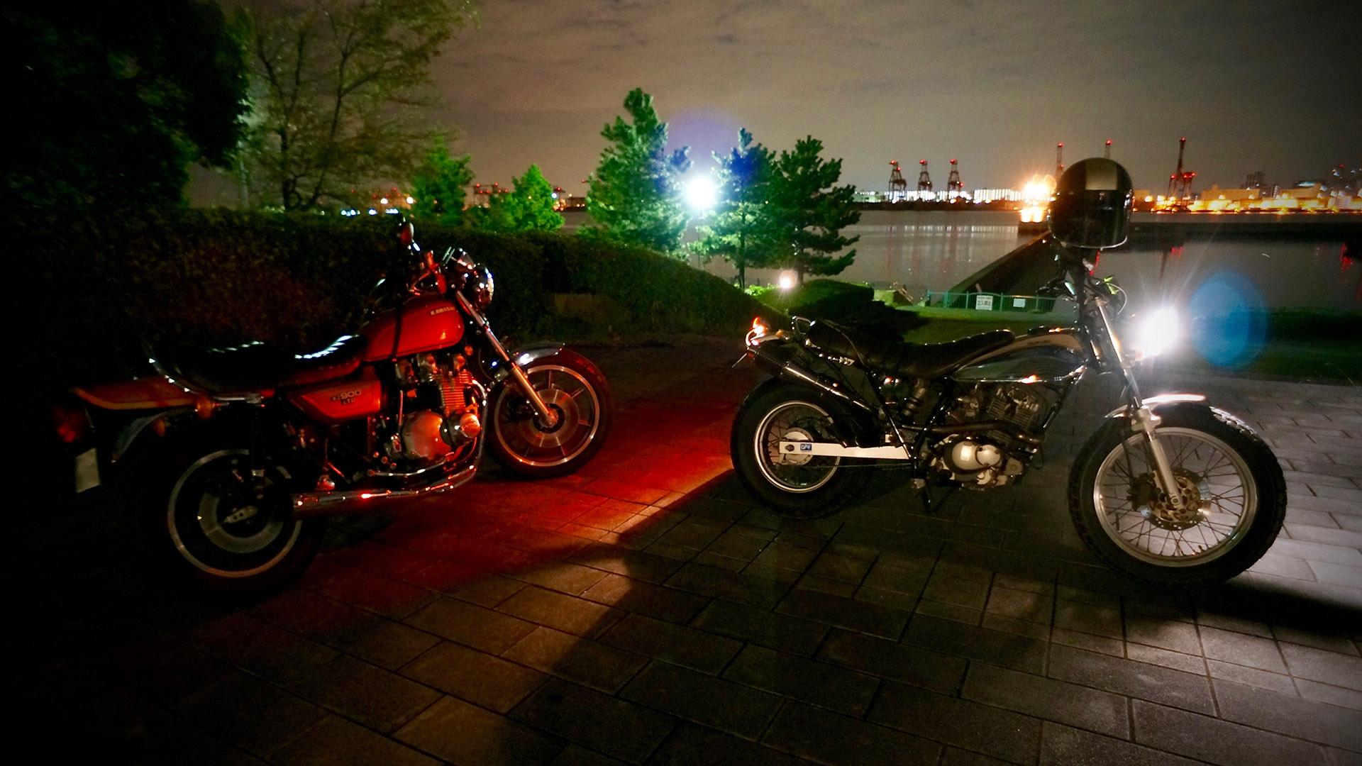 お台場バイク1