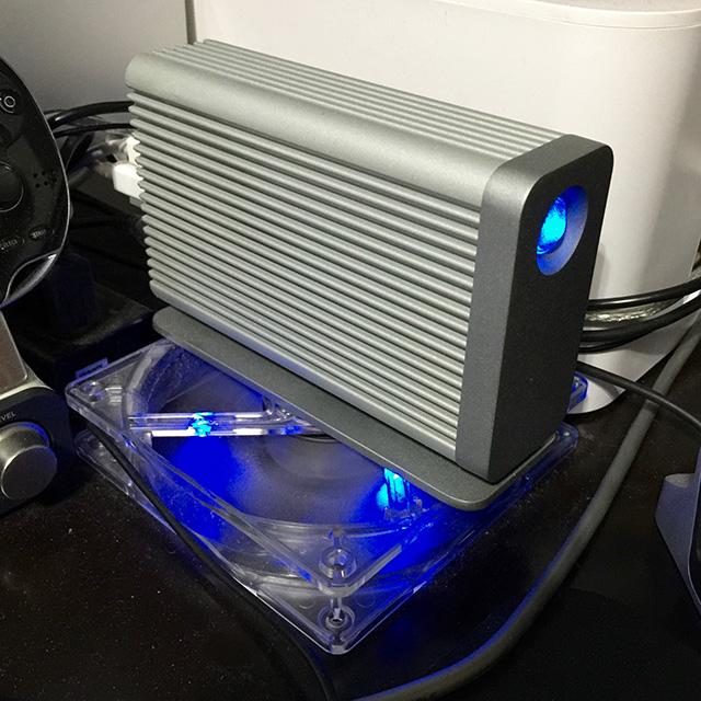 HDD冷却風景