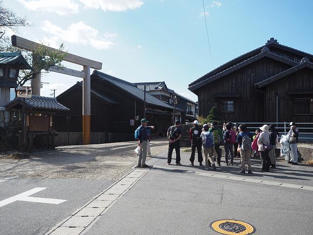 関宿東追分一鳥居