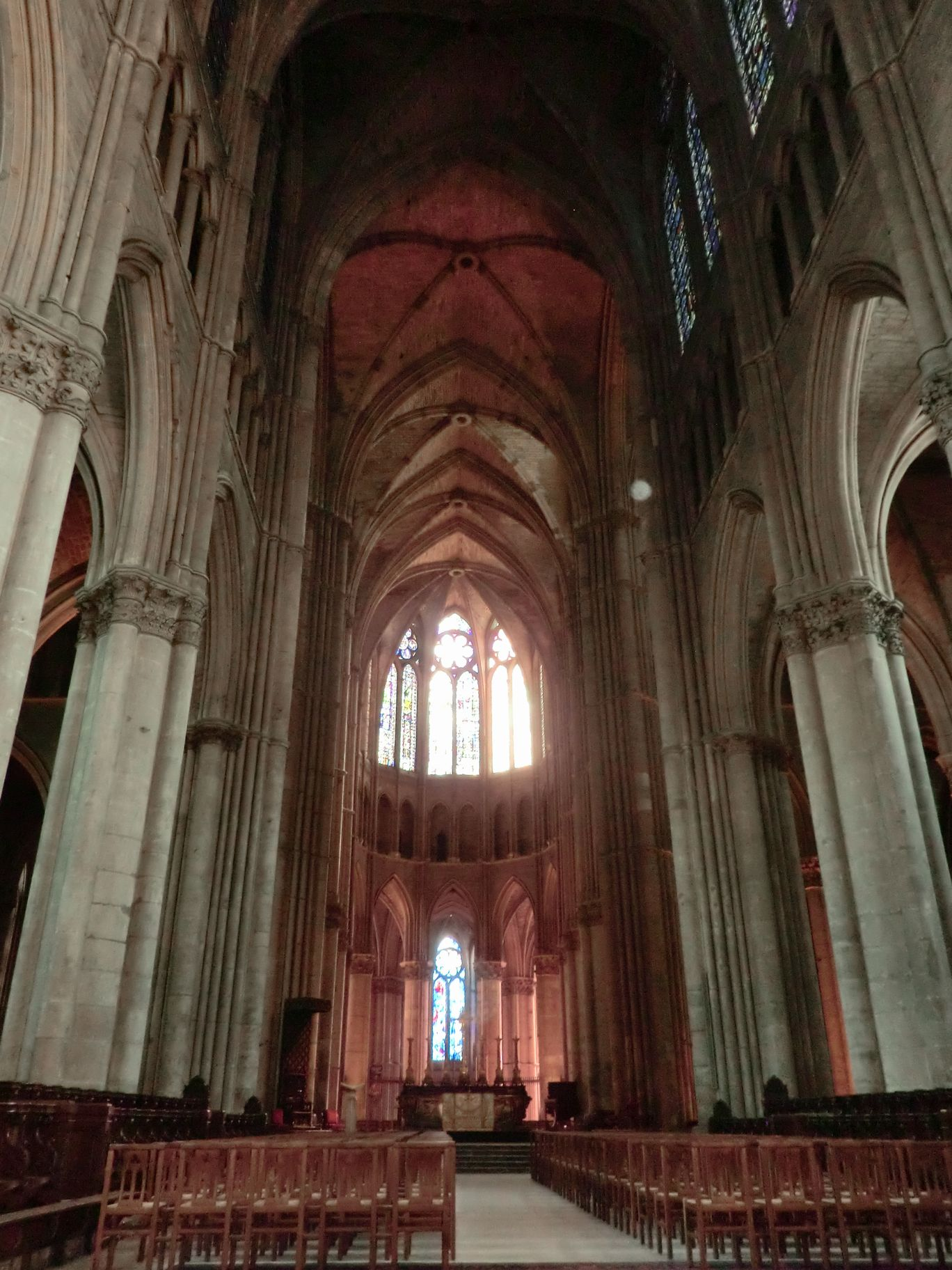 ランス大聖堂の中