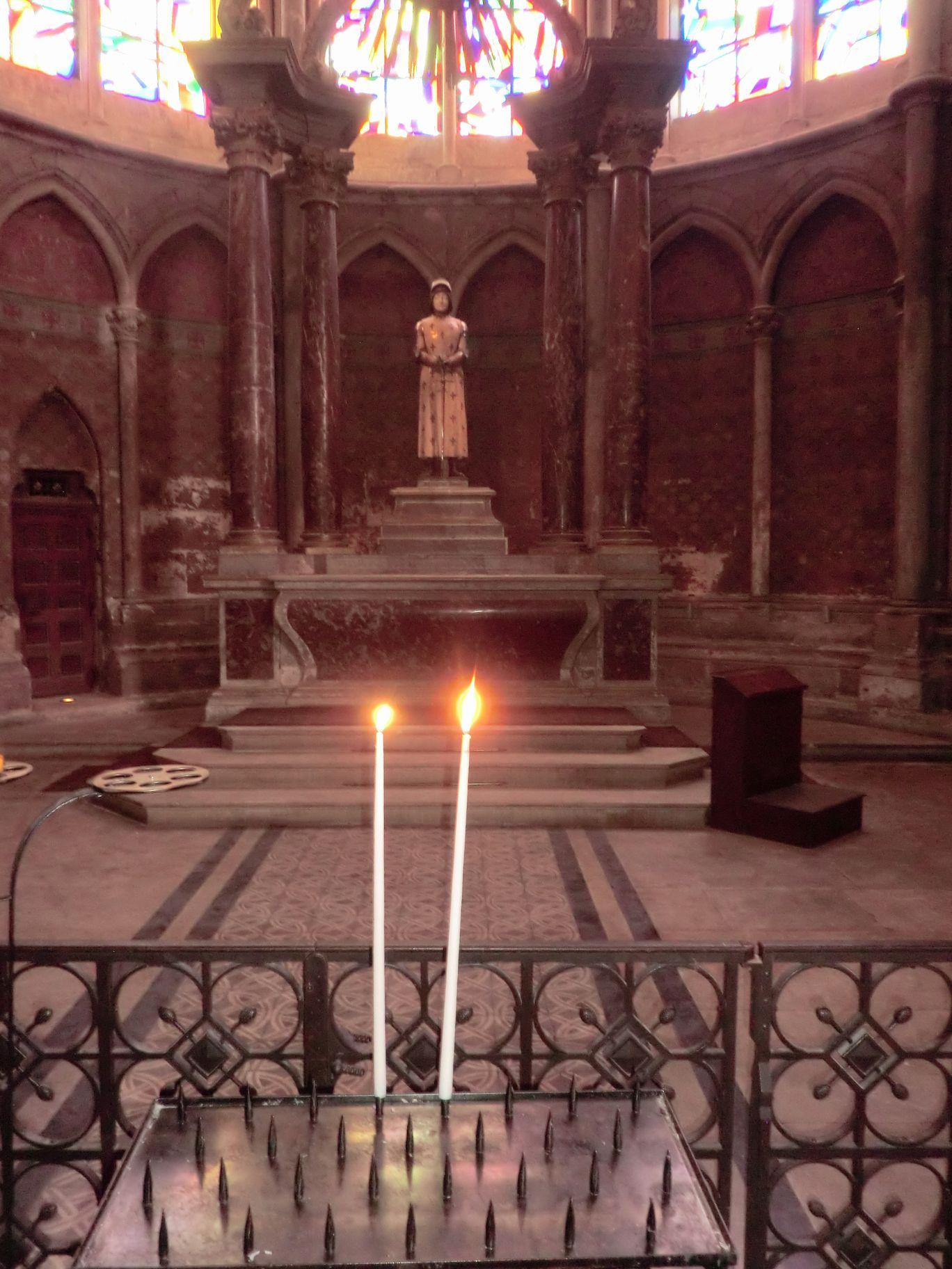 ジャンヌの祭壇