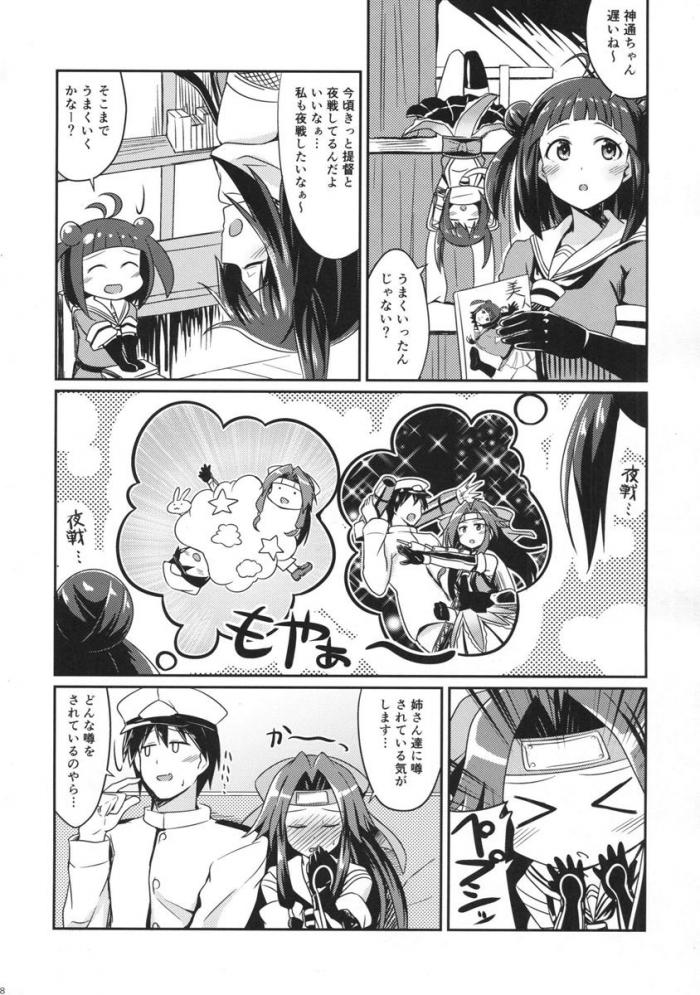 神通「か、かか、艦隊のアイドルじんちゅ…神通ちゃんだよ~!」