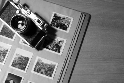 思い出の写真とカメラ