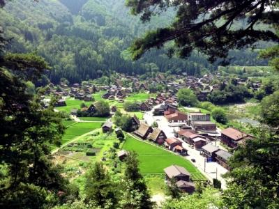 村の風景(白川郷)