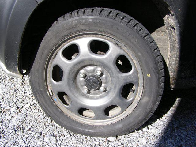 ハスラー冬タイヤ交換1129