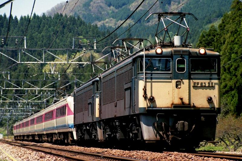 1997年4月26日 熊ノ平(信)~横川にて (1)