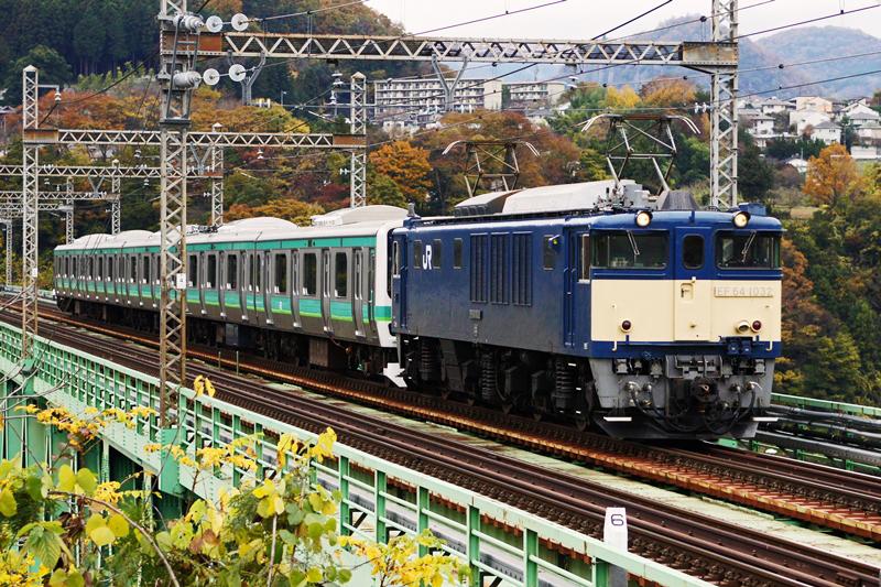 2015年11月19日 猿橋~鳥沢にて