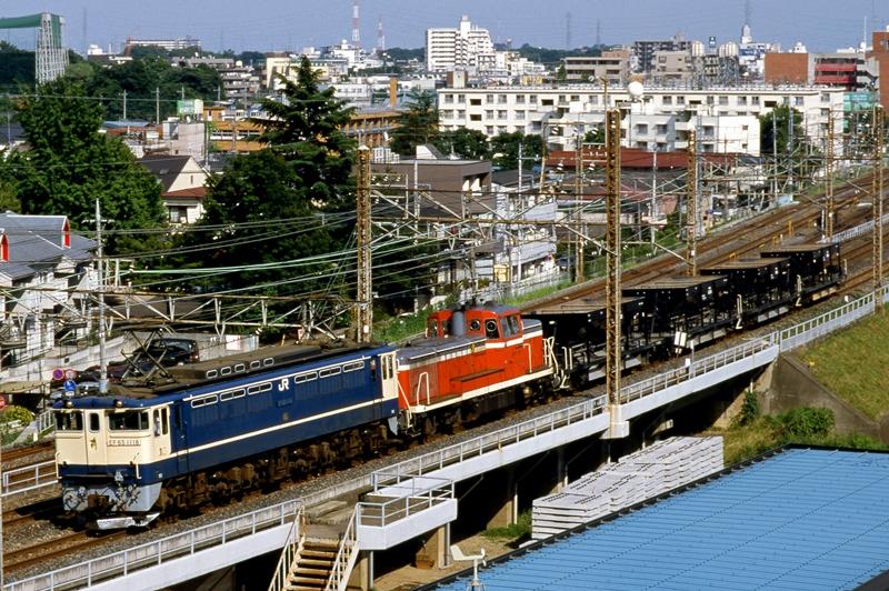 1997年6月14日 南浦和~浦和にて