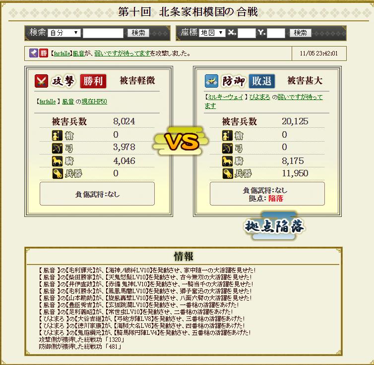 対前田家防衛戦 ミルキーパーティ 攻め2