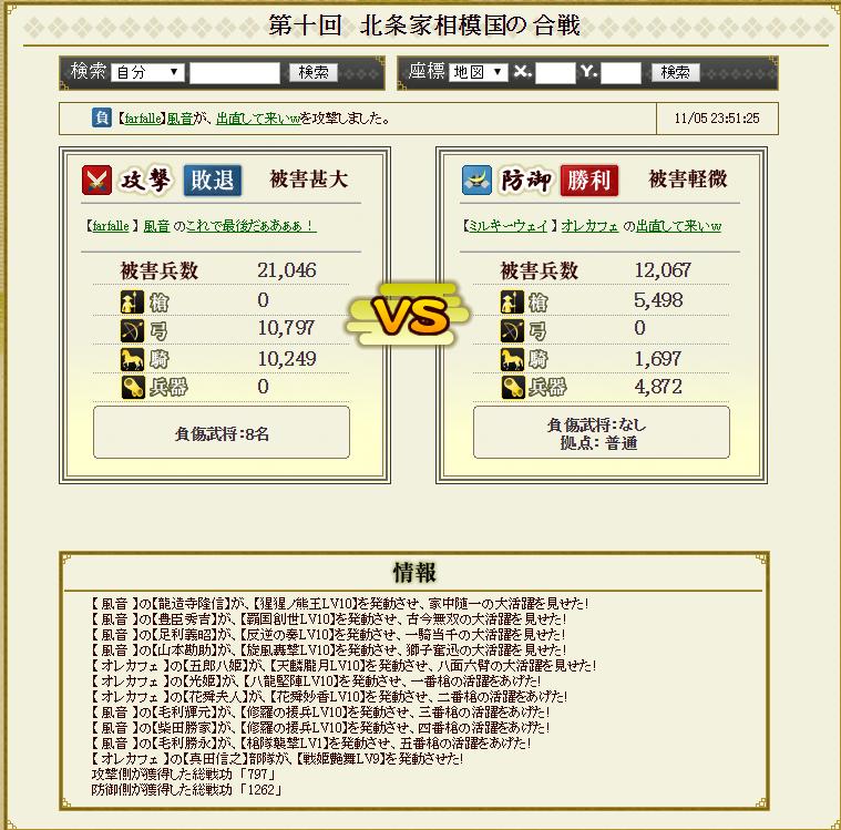 対前田家防衛戦 ミルキーパーティ 攻め3