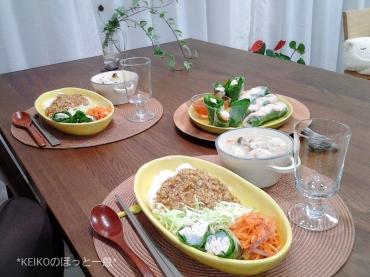タイ風鶏肉バジルごはん