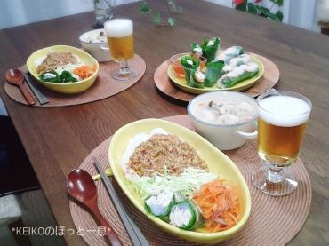 タイ風鶏肉バジルごはん3