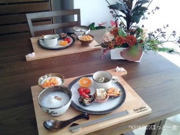 体に優しい朝定食