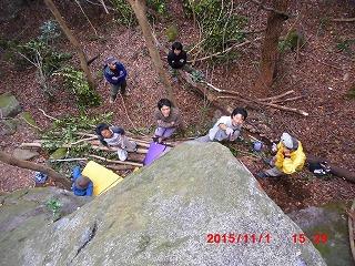 今日の岩1