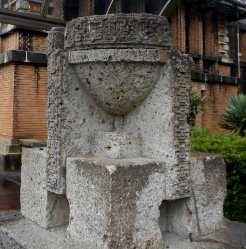 帝国ホテル 花台 大谷石