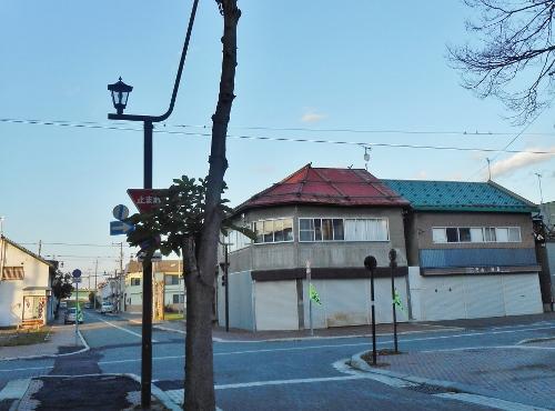 江別・中央通り 2015年