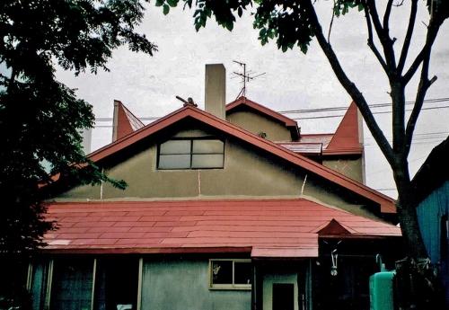 江別 会社通り付近の住宅